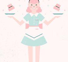 Pink Sugar Baking Girl by CarlyWatts