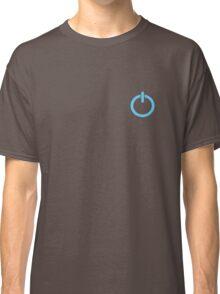Power Up logo! - Blue Classic T-Shirt