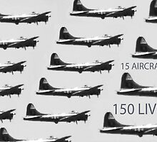 15 PLANES 150 LIVES by SMOKEYDOGSOCKS