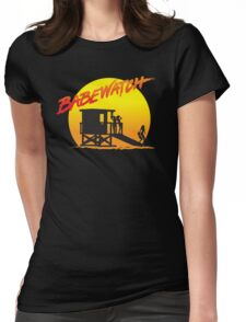 Babewatch (Baywatch) Womens Fitted T-Shirt