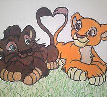 Lion King 2 Cubs by zakazdevil19