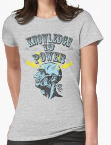 Knowledge is Power Womens Fitted T-Shirt