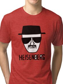 Breaking bad Heisenberg tshirt design Tri-blend T-Shirt