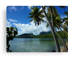 Bora Bora Dreamtime Canvas Print