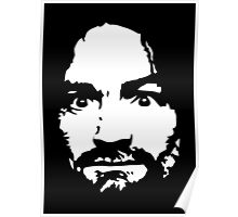 Charles Manson - Signature - Manson Family Poster