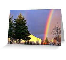 Now We Know Where the Rainbow Ends Greeting Card