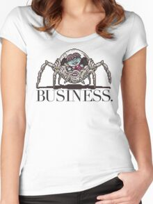 Pokey means business Women's Fitted Scoop T-Shirt