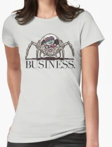 Pokey means business Womens Fitted T-Shirt