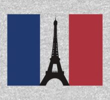 Eiffel Tower T-Shirt Kids Clothes
