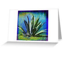 Aloha Blue Greeting Card