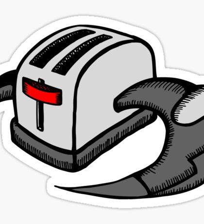 Frakking Toasters Sticker
