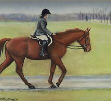 Morning Ride by Charlotte Yealey
