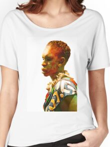 African man Women's Relaxed Fit T-Shirt