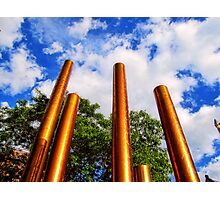 Pillars of Peavey Plaza Photographic Print