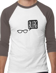 BLERG! Men's Baseball ¾ T-Shirt