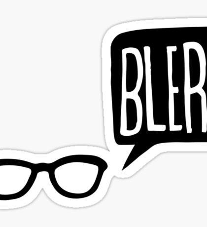 BLERG! Sticker