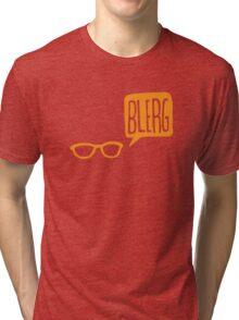 BLERG ORANGE! Tri-blend T-Shirt