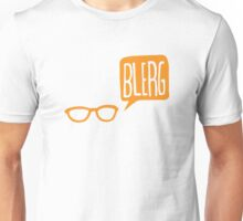 BLERG ORANGE! Unisex T-Shirt