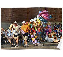 Parade Vendors Poster