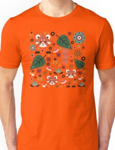 Red Panda & Cubs Unisex T-Shirt