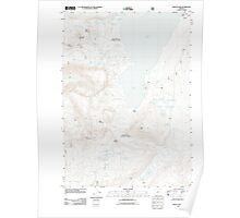 USGS Topo Map Oregon Waldo Lake 20110810 TM Poster