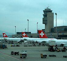 Zurich airport by SUBI