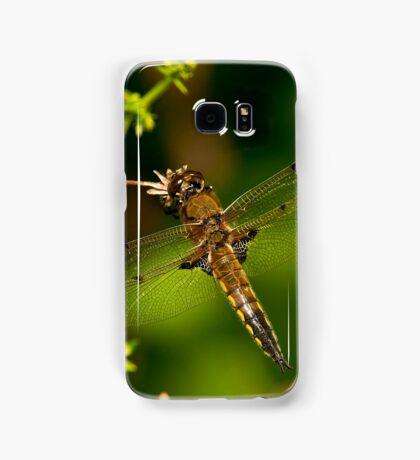 Four Spotted Skimmer Dragonfly Samsung Galaxy Case/Skin