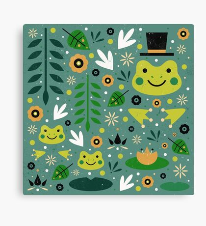 Frog Pond Canvas Print