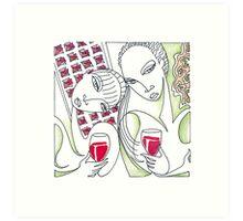 Lush Life: The Wine Series Art Print