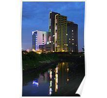 The Kuningan Place (by night) Poster