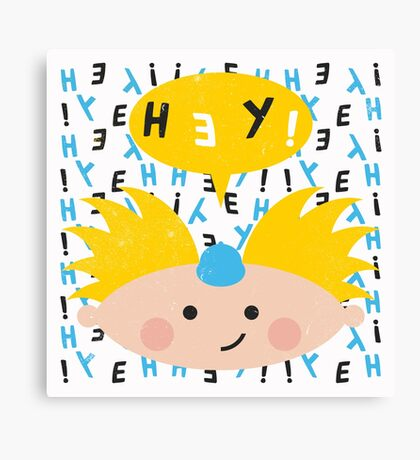Hey! Arnold Canvas Print