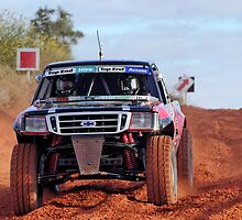 Car 523 - On The Way To Finke by Centralian Images