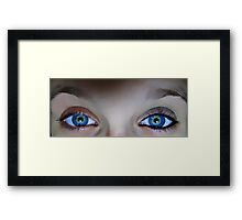 The difference. Framed Print