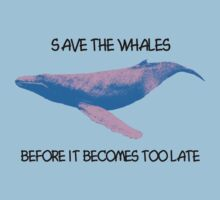 Save the whales by Matthew Sims