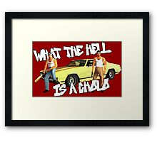 Grand Theft Cholo Framed Print