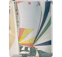 Racing yachts iPad Case/Skin