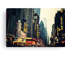Times Square - The Crossroads Canvas Print