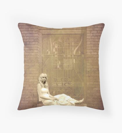 The body is a house of many windows: there we all sit, showing ourselves and crying on the passers-by to come and love us. -Robert Louis Stevenson Throw Pillow