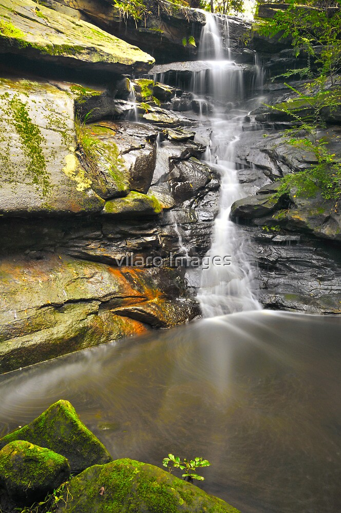 Sydney waterfalls - Tipperary Falls. by vilaro Images