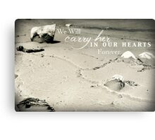 Carry Her Metal Print