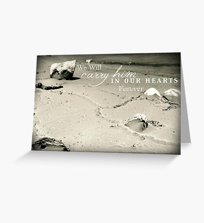 Carry Him Greeting Card