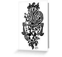 Celestial Mirror Greeting Card