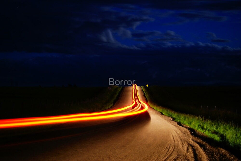 I`ll take  the back road  by Borror