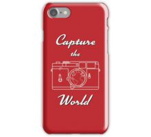 Capture the World iPhone Case/Skin