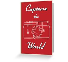 Capture the World Greeting Card