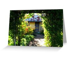 Ackerman's Cottage - Hill End, New South Wales Greeting Card