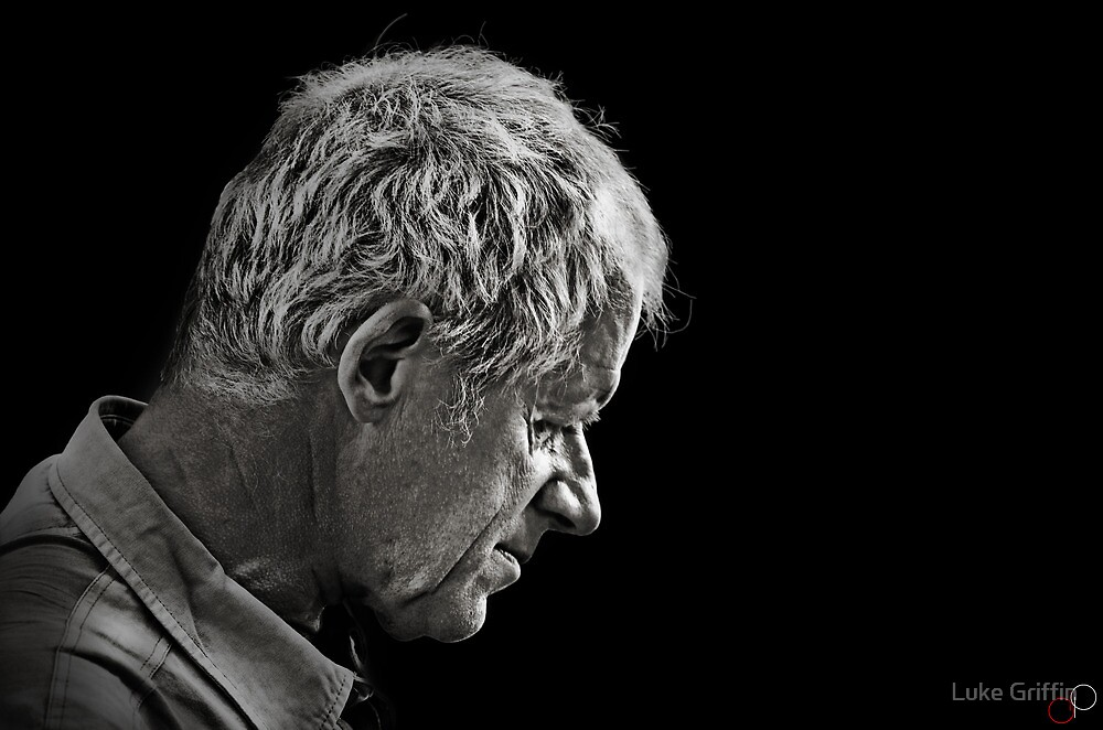 Faces of Venice - The Quiet Husband by Luke Griffin