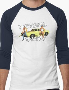 Grand Theft Cholo Men's Baseball ¾ T-Shirt