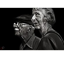 Faces of Venice - The Twilight Honeymooners Photographic Print