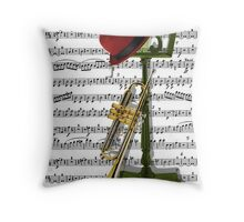 Play that Jazz.. Throw Pillow